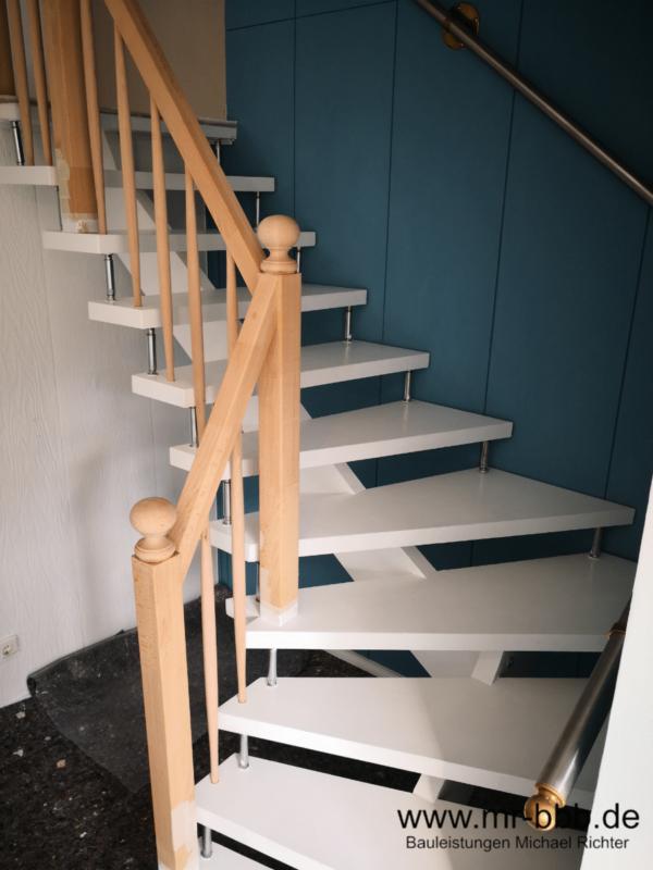 Fertigung eines individuellen Treppengeländers